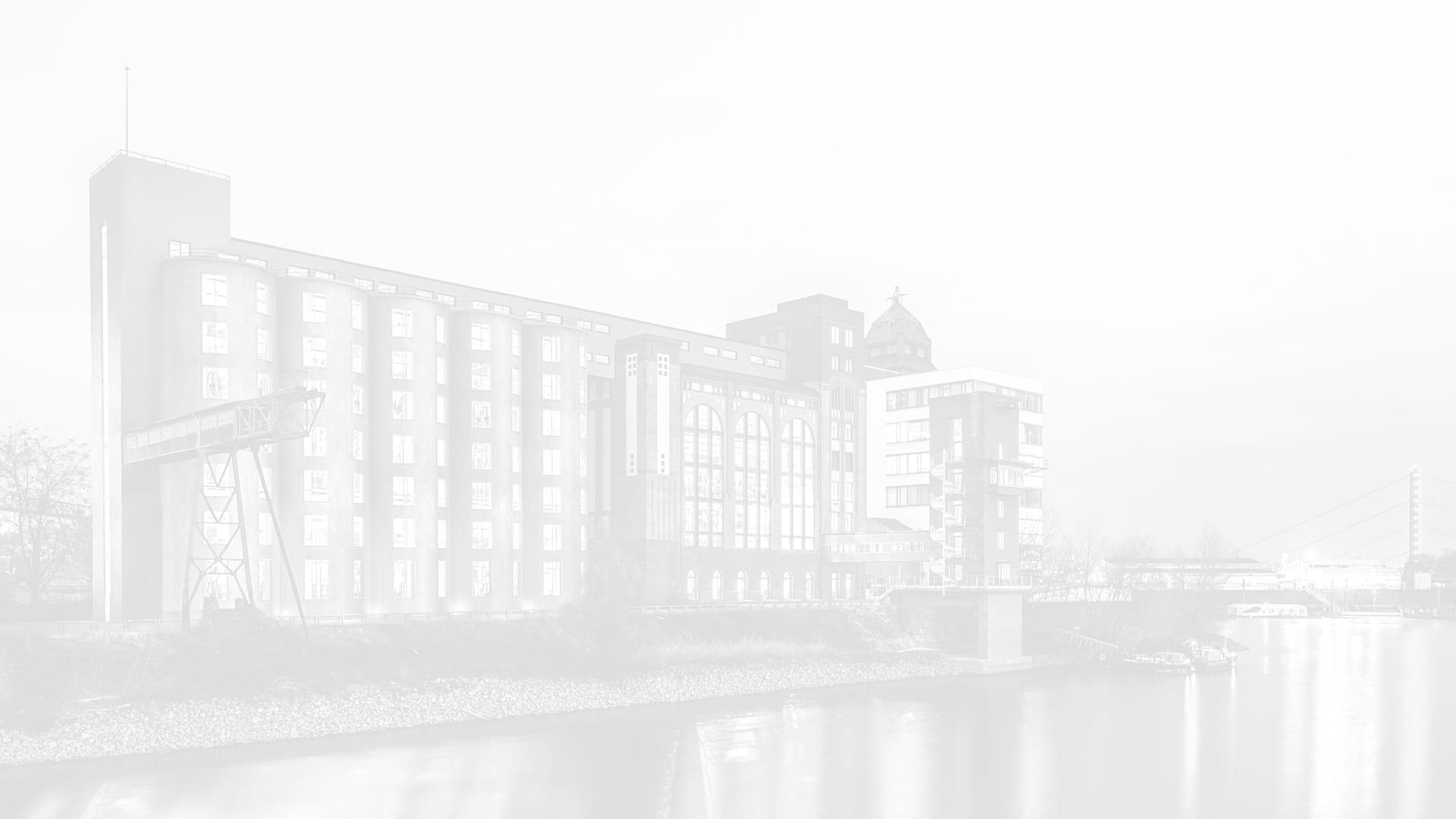 Düsseldorf Medienhafen - Plange Mühle